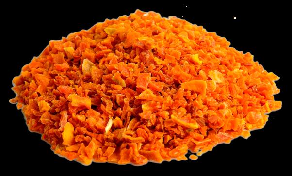 Zanahoria-deshidratada
